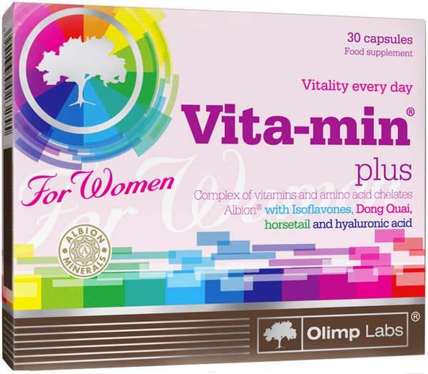 Витамины для женщин Vita-Min Plus For Women от Olimp
