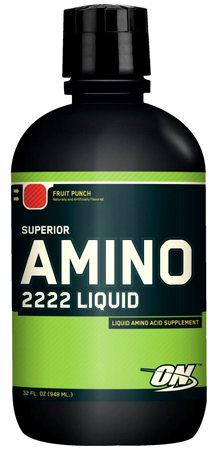 Amino 2222 Liquid (948 мл) - жидкие аминокислоты от Optimum Nutrition