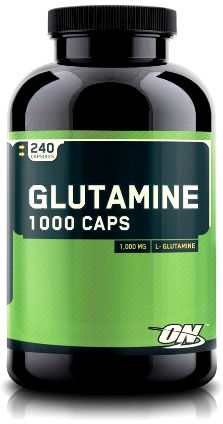 Glutamine 1000 (240 капсул) от Optimum Nutrition