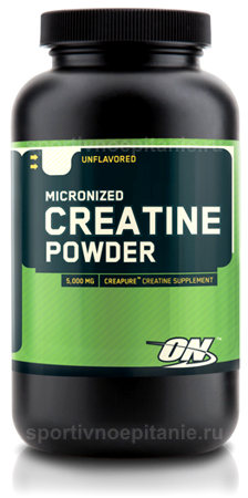 Micronized Creatine Powder от Optimum Nutrition 300 г