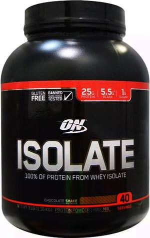 Сывороточный изолят ON Isolate от Optimum Nutrition