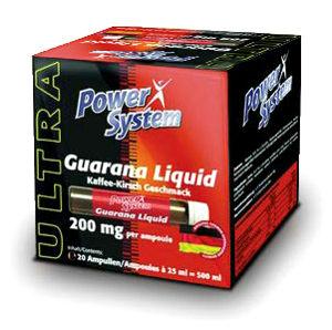 Power System Guarana Liquid 20 бутылочек по 25 мл