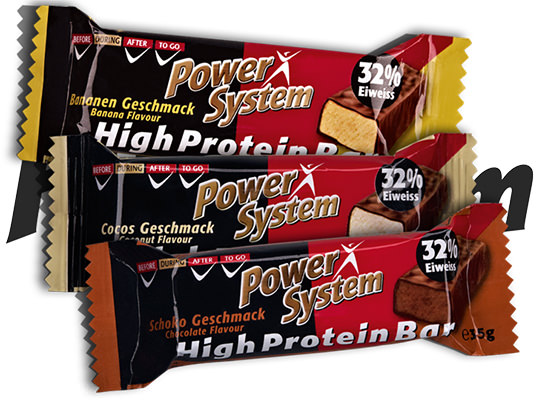 Высокопротеиновый батончик High Protein Bar от Power System