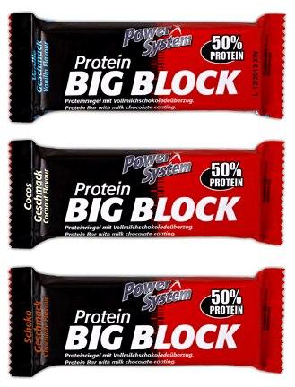 Протеиновые батончики Big Block от Power System