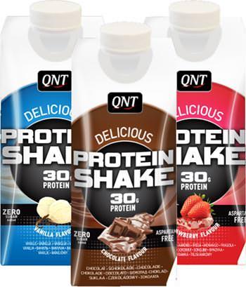 Готовый протеиновый напиток Delicious Protein Shake от QNT