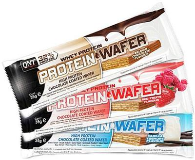 Протеиновый батончик Protein Wafer от QNT