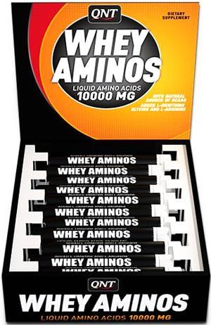 Жидкие аминокислоты Whey Aminos 10000 Liquid от QNT