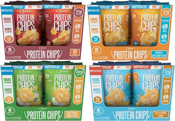 Протеиновые чипсы Quest Chips 2.0 от Quest