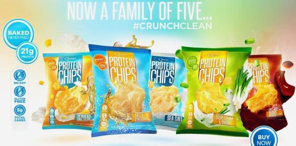 Протеиновые чипсы Quest Protein Chips