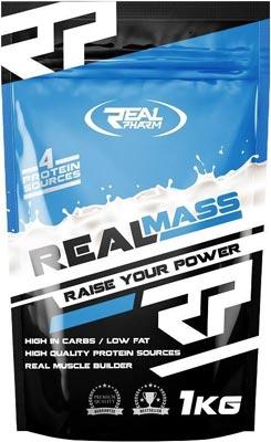 Высококалорийный гейнер Real Mass от Real Pharm
