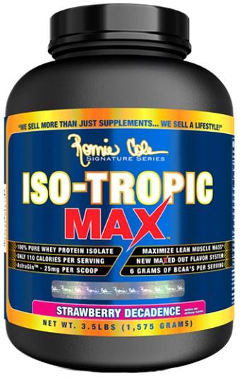 Сывороточный изолят Iso-Tropic MAX от Ronnie Coleman
