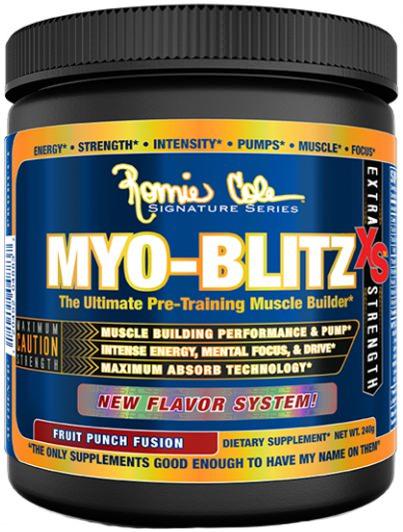 Предтренировочный комплекс Myo-BLITZ XS от Ronnie Coleman