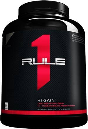 Сбалансированный гейнер R1 Gain от Rule 1