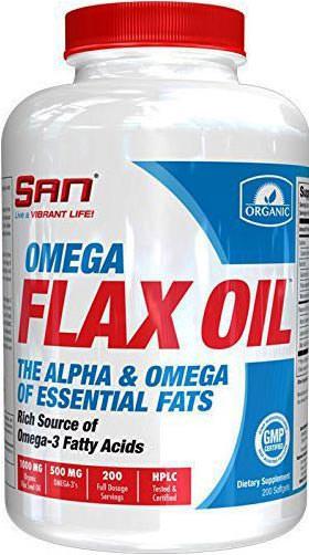 Льняное масло Omega Flax Oil от SAN