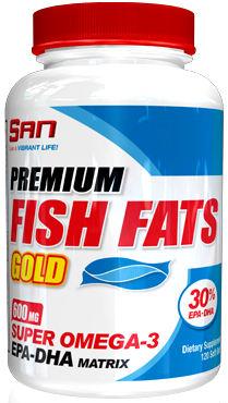 Жирные кислоты Premium Fish Fats Gold от SAN