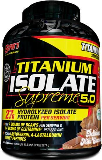 Сывороточный изолят Titanium Isolate Supreme от SAN