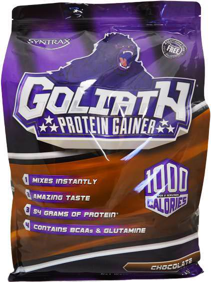 Высококалорийный гейнер Goliath от Syntrax