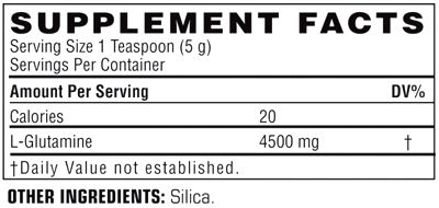 Состав Twinlab Glutamine Fuel