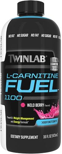 Л-карнитин L-Carnitine Fuel 1100 от Twinlab