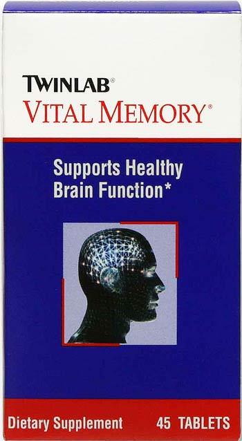 Витамины Vital Memory от Twinlab