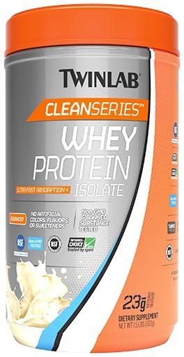 Изолят сывороточного протеина Whey Protein Isolate Clean Series от Twinlab