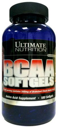 BCAA Softgels от Ultimate Nutrition