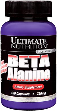 Бета аланин Ultimate Nutrition Beta Alanine 750 мг