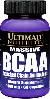 Аминокислоты Massive BCAA 1000mg от Ultimate Nutrition