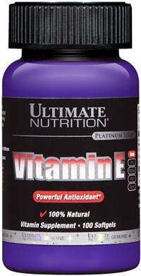 Витамин Е Vitamin E от Ultimate Nutrition