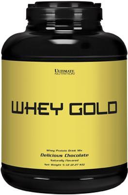Сывороточный протеин Whey Gold от Ultimate Nutrition
