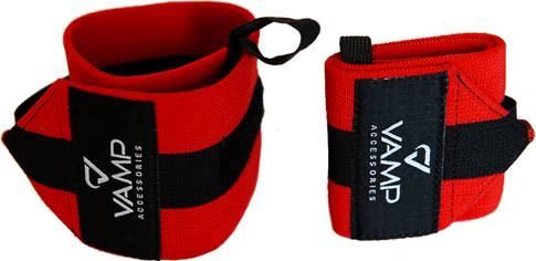 Кистевые бинты Training Wrist Wraps Red от Vamp