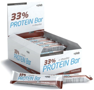 Батончик Protein Bar 33% от Vplab
