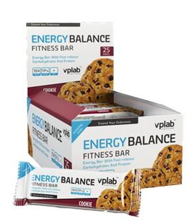 Энергетический батончик Energy Balance Fitness Bar от Vplab
