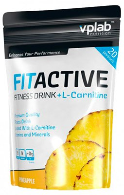 Изотонический напиток FitActive + L-Carnitine от Vplab