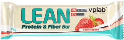 Протеиновый батончик Lean Protein Fiber Bar от Vplab
