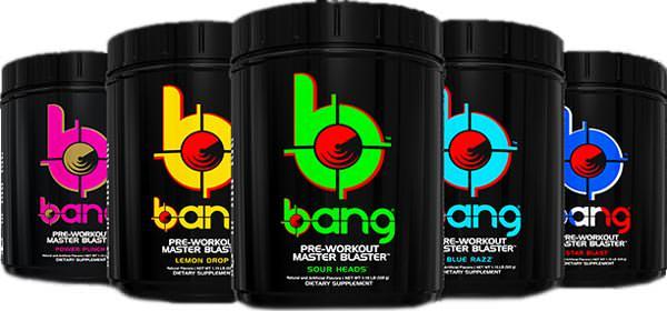 Предтренировочный комплекс Bang Pre-Workout Master Blaster от VPX