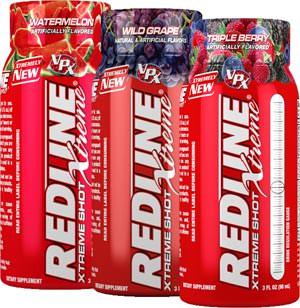 Энергетичский напиток Redline Xtreme Shot от VPX