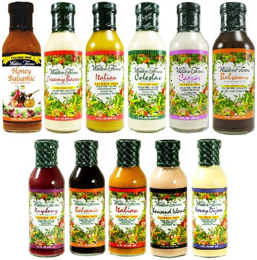 Заправка для салата Salad Dressings от Walden Farms