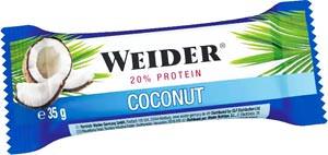 Протеиновый батончик 20% Protein Bar от Weider