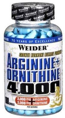 Weider Arginine + Ornithine 4000