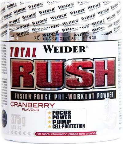 Предтренировочный комплекс Total Rush от Weider